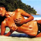 Hot Brunette Wet Topless Babe 32x24 Print POSTER