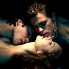 The Vampire Diaries Hot Threesome Dobrev 32x24 Print POSTER