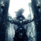 Warrior Gates Rain Swords Fantasy Art 32x24 Print POSTER