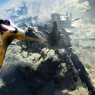 Spacecraft Future Atmosphere Fantasy 32x24 Print POSTER