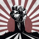 Freedom Fighters Fist Cool Art Style 32x24 Print POSTER