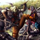 The Witcher Goblin Knights Fight Fantasy 32x24 Print Poster