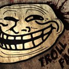 Troll Face Cool Art Splashes 32x24 Print Poster