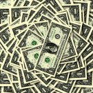 Money Pile Dollars 1 Cool 32x24 Print POSTER