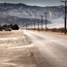 USA Dust Valley Hills Landscape 32x24 Print POSTER