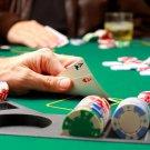 Texas Hold Em Poker Aces Macro 32x24 Print POSTER