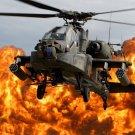 Fireborn Mc Donnell Douglas Ah 64 Apache Poster