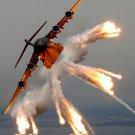 Heavy Aircraft Flares Smoke 32x24 Print Poster