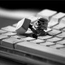 Keyboard Stormtrooper Cool Hi Tech 32x24 Print Poster
