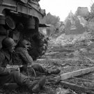 WORLD WAR II Real Photo Military War 32x24 Print Poster