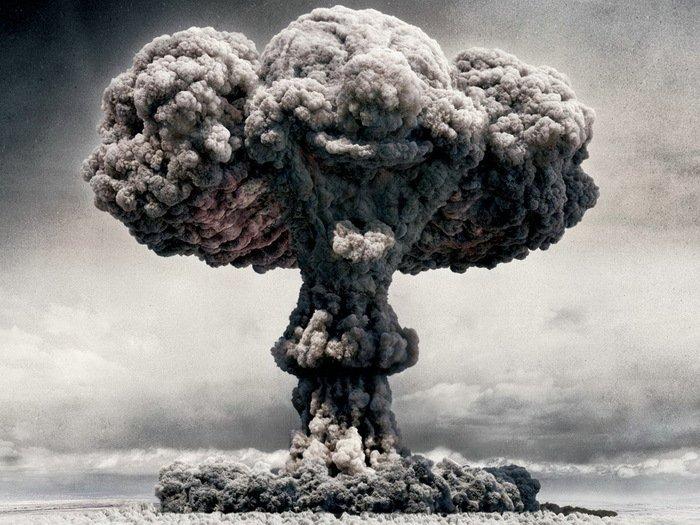 Mushroom Clown Nuclear Cool Art 32x24 Print Poster