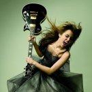 Miley Cyrus Wild Guitar Hot Singer 32x24 Print Poster