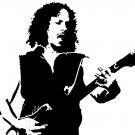 Kirk Hammett BW Metallica Guitarists 32x24 Print Poster