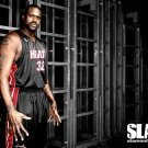 Shaquille O Neal Miami Heat NBA 32x24 Print Poster