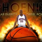 Shaquille O Neal Phoenix Suns NBA 32x24 Print Poster