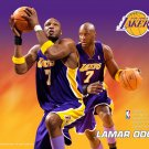 Lamar Odom Los Angeles Lakers NBA 32x24 Print Poster