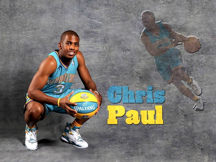 Chris Paul Hornets NBA Basketball 32x24 Print Poster