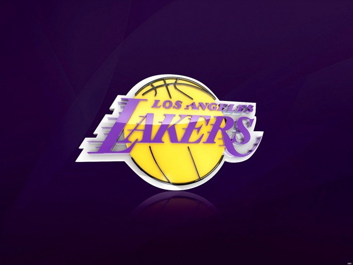 Los Angeles Lakers Logo NBA 32x24 Print Poster