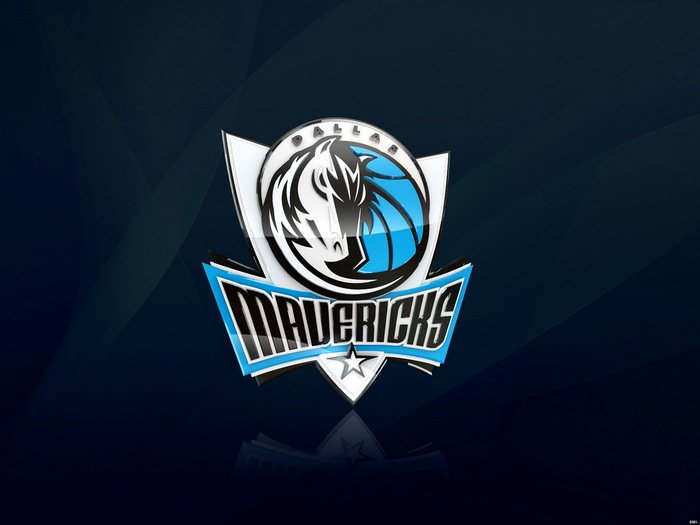 Dallas Mavericks Logo NBA Basketball 32x24 Print Poster