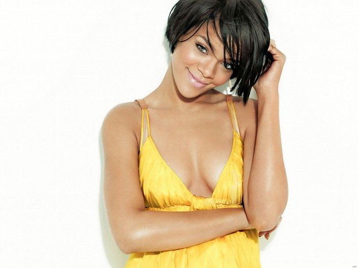 Rihanna Sexy Smile Hot Music New 32x24 Print Poster