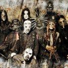 Slipknot Group Scary Masks Music 32x24 Print Poster