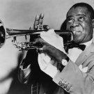 Musician Trumpeter Jazz Louis Armstrong Singer 32x24 Print POSTER