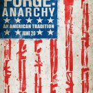 The Purge Anarchy Movie Drama Thriller Frank Grillo 32x24 Print POSTER