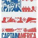 Marvel Captain America Comics Marvel 32x24 Print POSTER