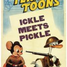 Terry Toons Ickle Meets Pickle 32x24 Print POSTER