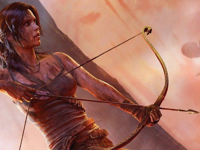 Tomb Raider Lara Croft Adventure RPG 32x24 Print POSTER
