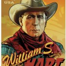Cowboy William Hart Retro Painting Art 32x24 Print Poster