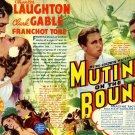 Mutiny On The Bounty 1935 Retro Movie 32x24 Print Poster