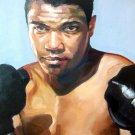 Muhammad Ali Greatest Boxer Painting Art 32x24 Print Poster