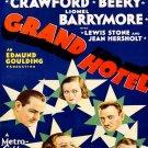 Grand Hotel Retro Movie Vintage Art 32x24 Print Poster