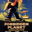 Forbidden Planet Retro Movie Vintage 32x24 Print Poster