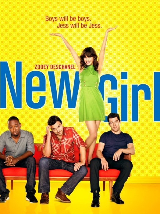 New Girl Characters TV Series 32x24 Print Poster