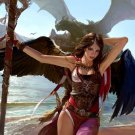 Hot Pirate Girl Fantasy Painting Art 32x24 Print Poster