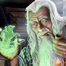 Mage Old Wizard Magic Fantasy Painting Art 32x24 Print Poster