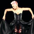 Pink Hot Pop Music Singer 32x24 Print Poster