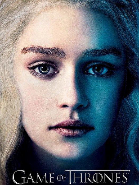 Game Of Thrones Daenerys Targaryen 32x24 Print Poster