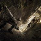 Steampunk Spider Man Fantasy Artwork 32x24 Print Poster