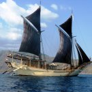 Sea Sailing Ship Vessel 32x24 Print Poster