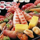 Sushi Japanese Traditional Food Macro 32x24 Print Poster