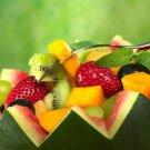 Fruits Dessert Berries Food 32x24 Print Poster