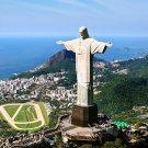 Christ The Redeemer Rio De Janeiro Brazil 32x24 Print Poster