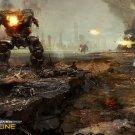 MechWarrior Online Hunchback Video Game 32x24 Print Poster