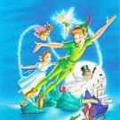 Peter Pan Walt Disney Art 32x24 Print Poster