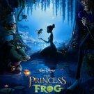 The Princess And The Frog Walt Disney Art 32x24 Print Poster