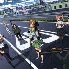 High School Of The Dead Anime Art 32x24 Print Poster