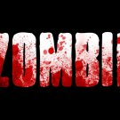 Zombie Blood Text Art 32x24 Print Poster